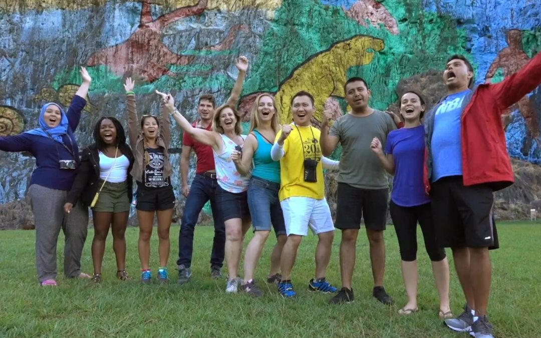 Expedia Global Ambassadors live Corporate Philanthropy in Cuba