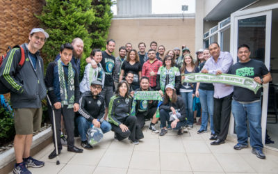 Sounders FC Partners with SIF to Raise Funds for Youth Homelessness at Home and Abroad