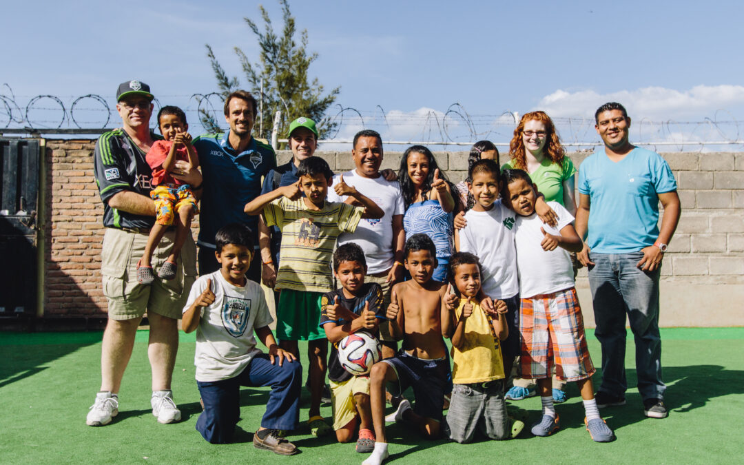 SIF and Seattle Sounders FC bring smiles to impoverished Honduran youth