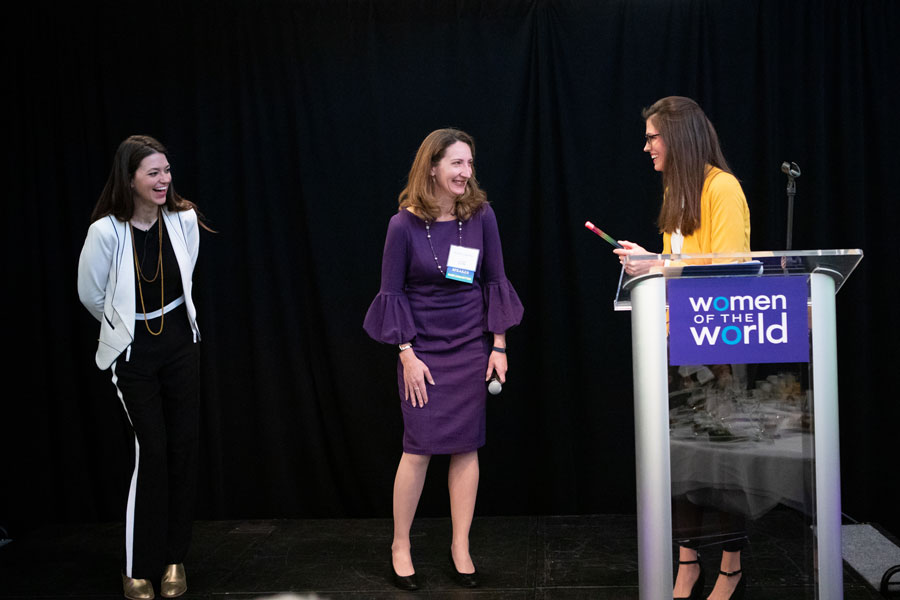 SIF Passes the Baton to GlobalWA for Women of the World event