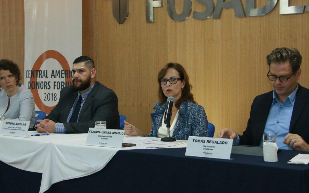 El Salvador volverá a ser la sede del Foro Centroamericano de Donantes