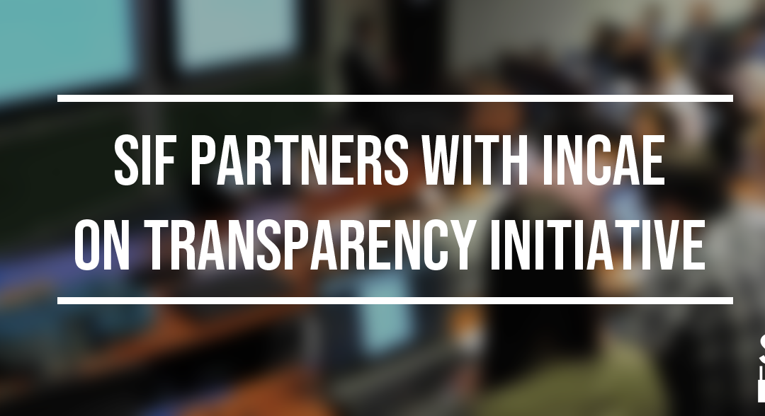 SIF Partners with INCAE on Transparency Initiative