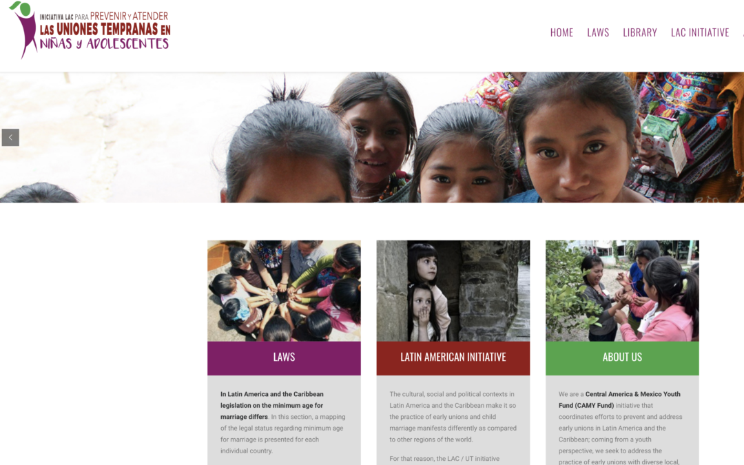 SIF's CAMY Fund Launches Latin America Initiative on Child Marriage
