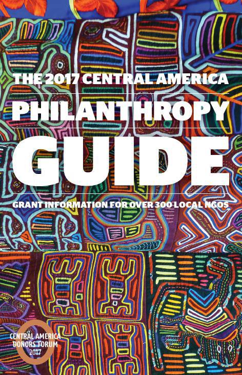 2017 Central America Philanthropy Guide