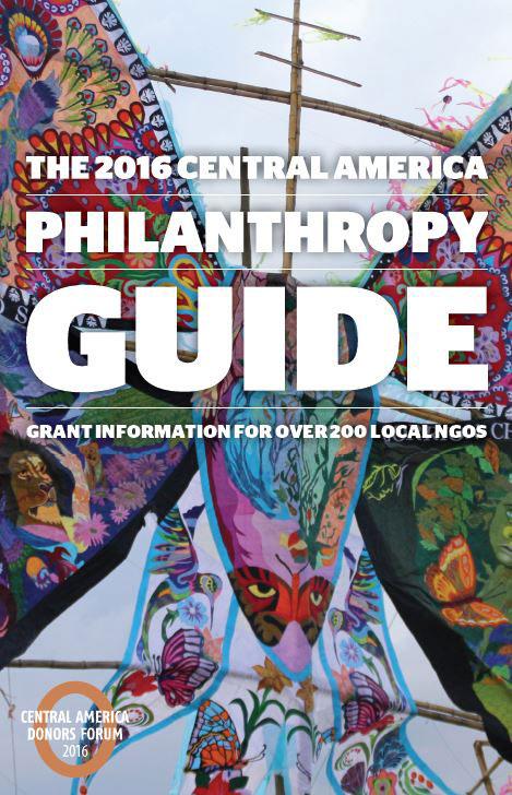 2016 Central America Philanthropy Guide