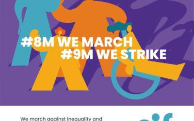#8M We March, #9M We Strike