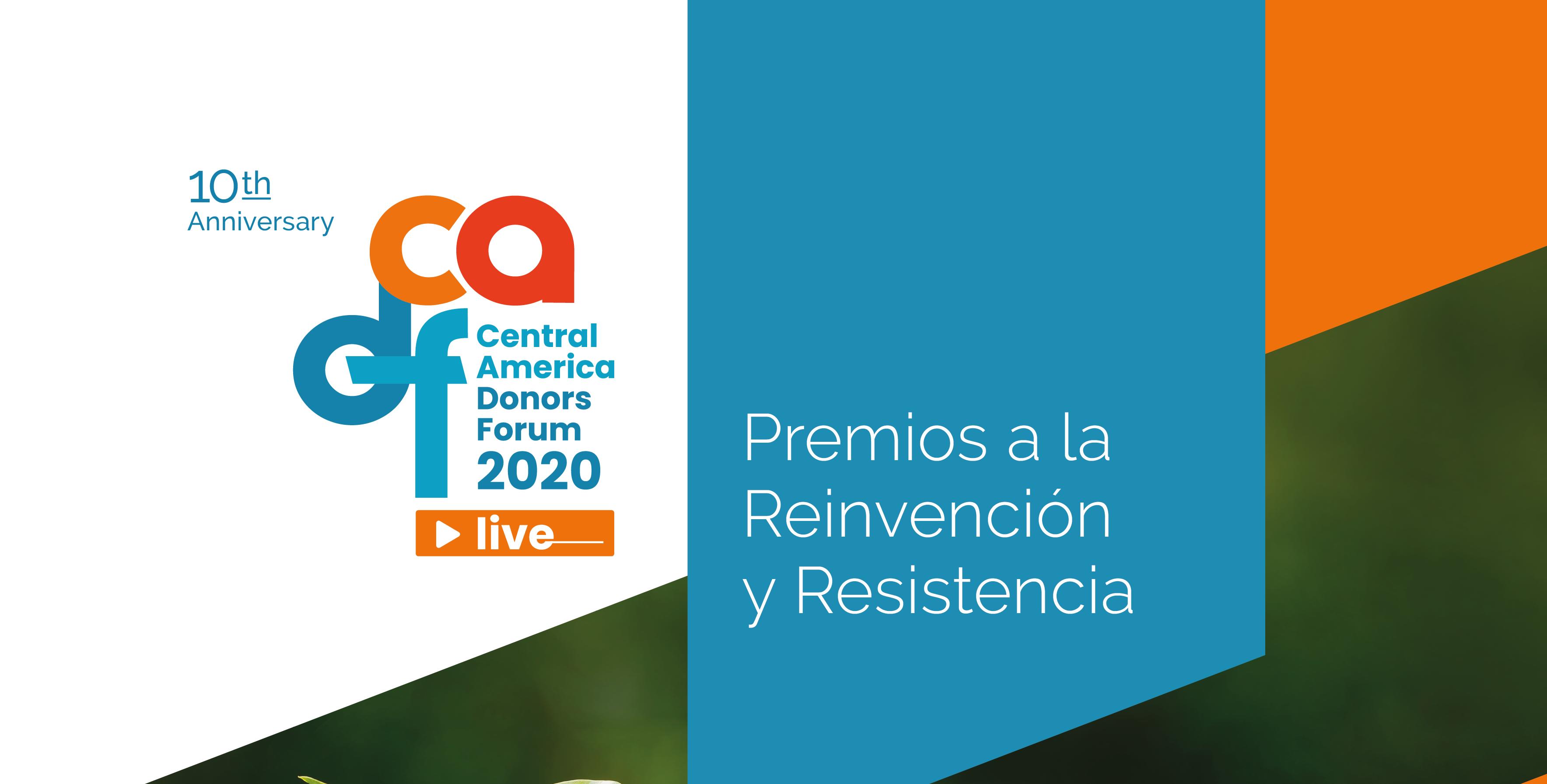 Premios CADF a la Reinvención y la Resistencia