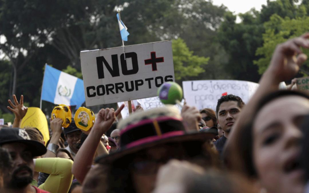 La juventud y la lucha contra la corrupción en Centroamérica