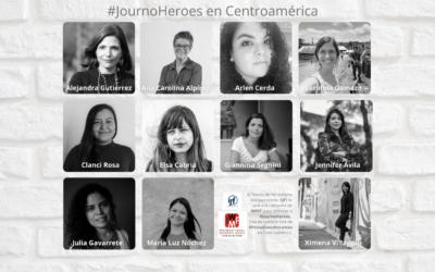 Nuestra lista de #JournoHeroes en Centroamérica