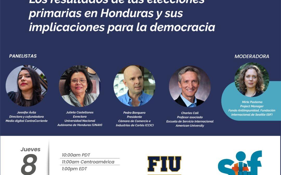 Los resultados de las elecciones primarias en Honduras y sus implicaciones para la democracia