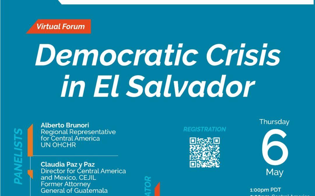 Democratic Crisis in El Salvador