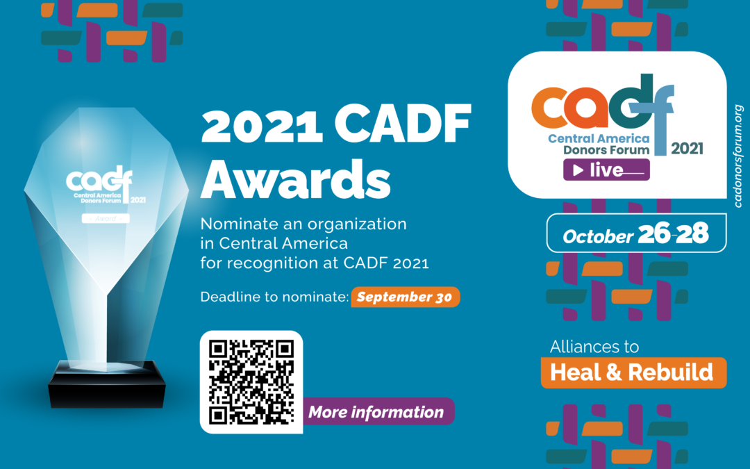 Open call for 2021 CADF Award nominations